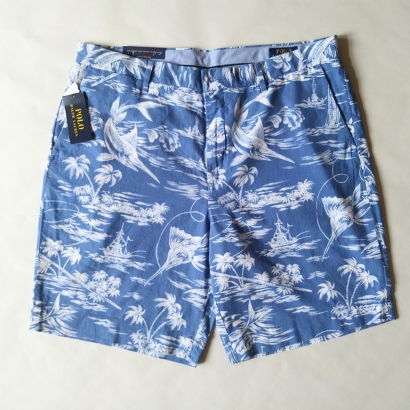 Ralph Lauren Men's Linen Shorts, NWT